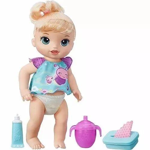 Boneca Baby Alive Fraldinha Mágica Loira - Hasbro