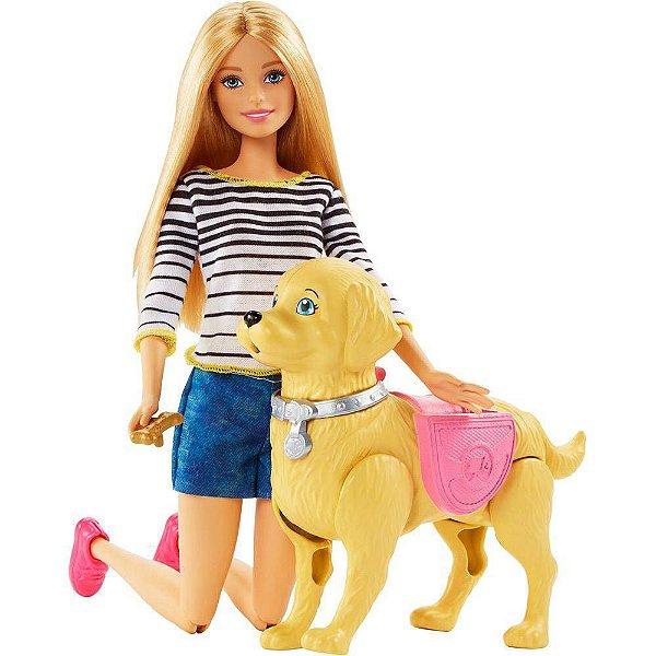 Boneca Barbie Family Passeio Cachorrinho - Mattel
