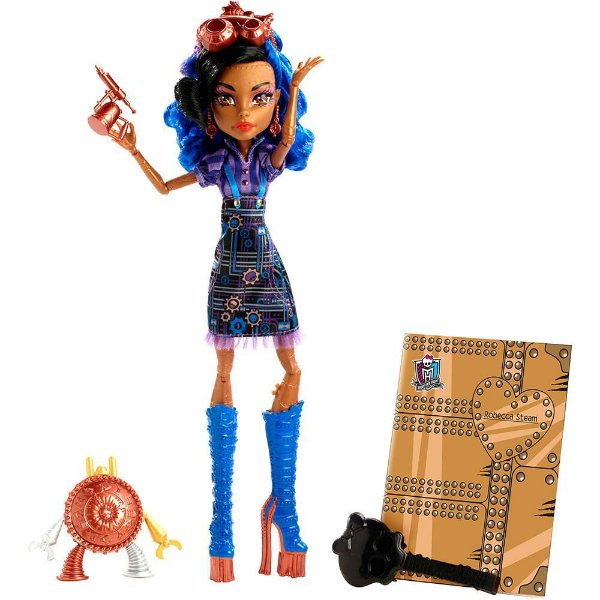 Boneca Monster High Robecca Aula de Arte - Mattel