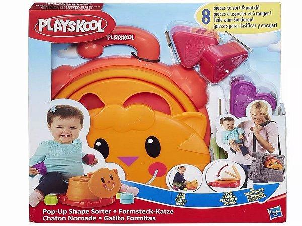 Playskool Gatinho Com Formas - Hasbro