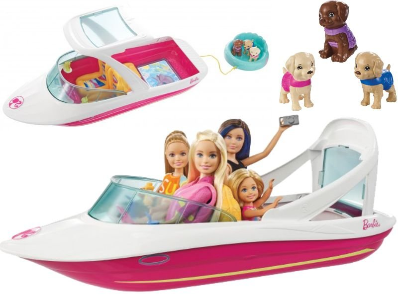 Barbie Filme Barco de Aventuras - Mattel