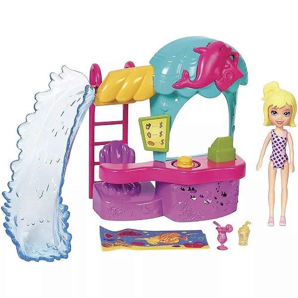 Polly Quiosque Parque Aquatico - Mattel