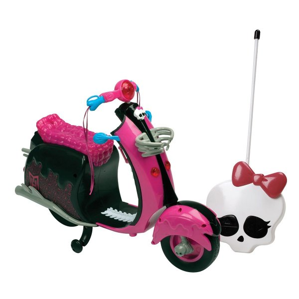 Moto de Controle Remoto Phantom Cycle Monster High - Candide