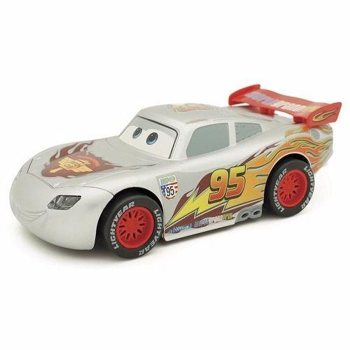 Carrinho Relâmpago Mcqueen Prata Fricção Carros 3 Disney - Toyng