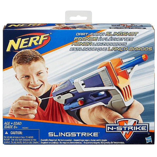 Lançador De Dardos Nerf Elite Estilingue Slingshock - Hasbro