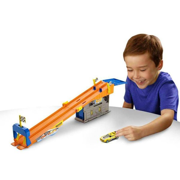 Pista Hot Wheels  Corrida com Ação - Mattel