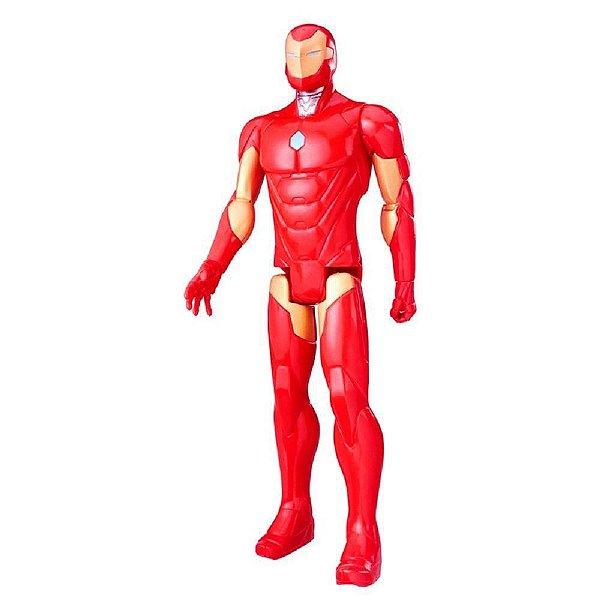 Boneco Vingadores Titan Hero Homem de Ferro - Hasbro