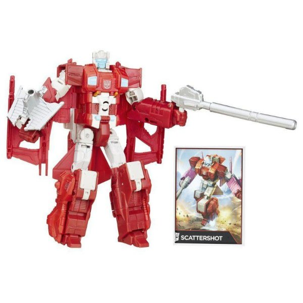 Transformers Generations Voyager Scattershot - Hasbro