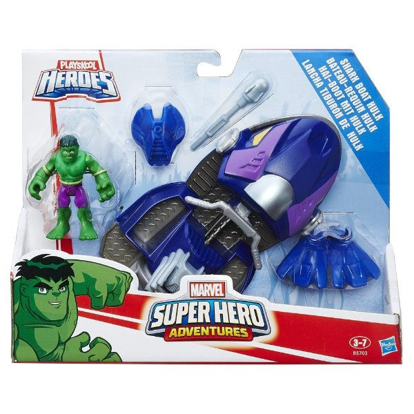 Hulk Veículo PlaySkool Hero Marvel - Hasbro