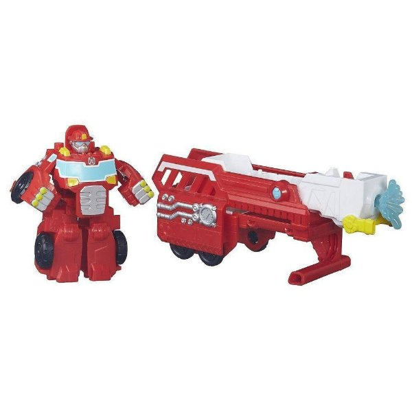 Boneco Playskool Transformers Pset R Bots Resgate 3X1 Heatwave Auto-Escada Hasbro B4951 11531