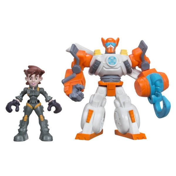 Transformers Rescue Bots Playskool Heroes Bladese Dani Burns - Hasbro