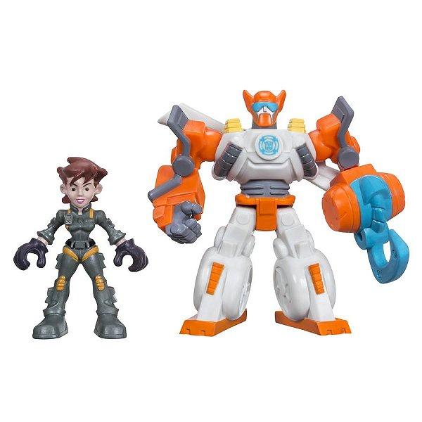 Transformers Rescue Bots Playskool Heroes Bladese Dani Burns - Hasbro