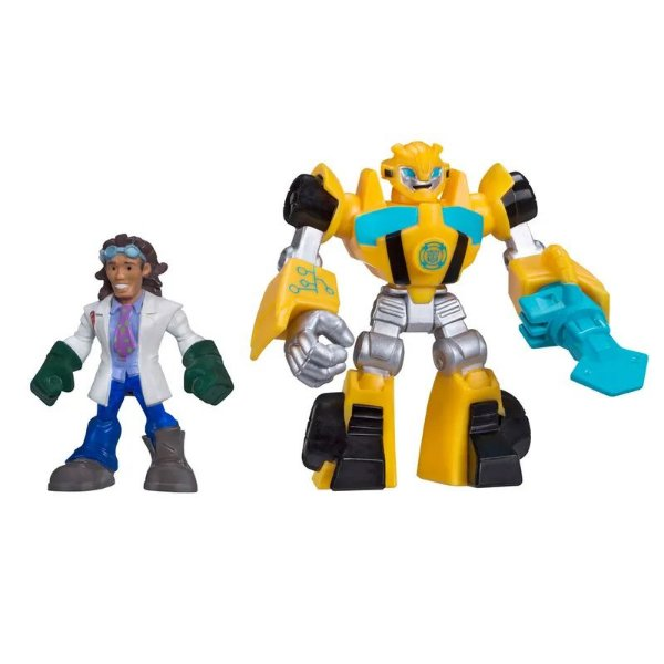 Transformers Rescue Bots Playskool Bumblebee e Doc Greene - Hasbro