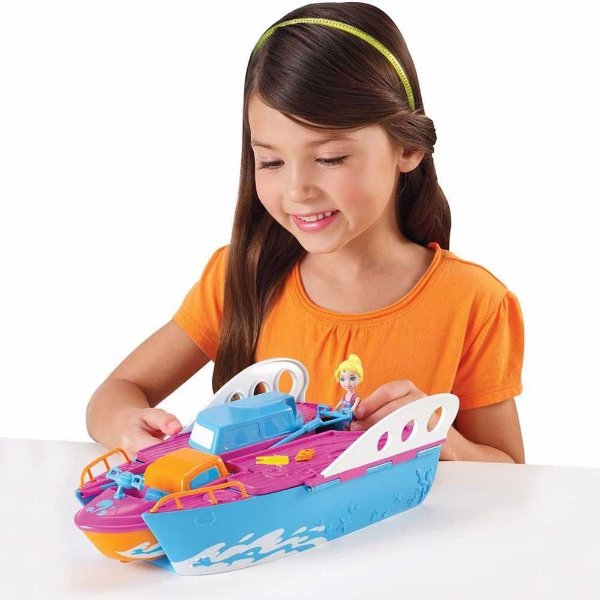 Polly Pocket Iate Festa Tropical 2 Em 1 - Mattel