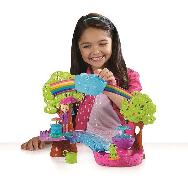 Polly Pocket Diversão Na Chuva - Mattel