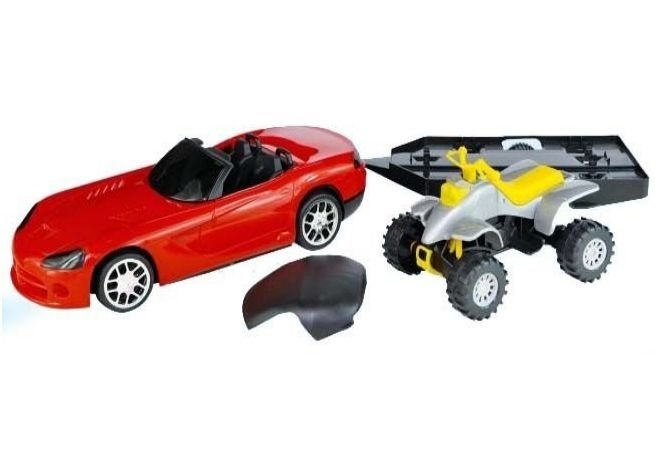 Carro a Fricção VPX Aventura - BS Toys