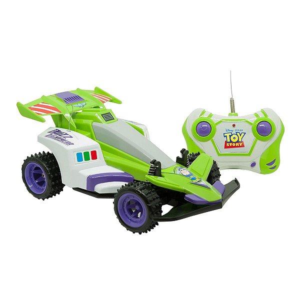 Carrinho De Controle Remoto 3 Funções Toy Story Space Ranger - Candide