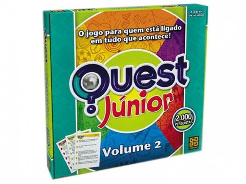 Jogo Quest Júnior Volume - Grow