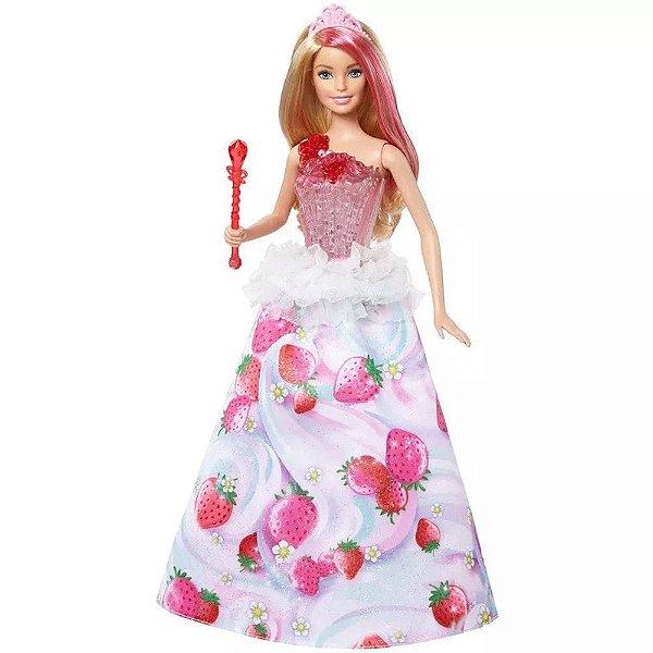 Barbie Dreamtopia Princesas Reino Dos Doces - Mattel