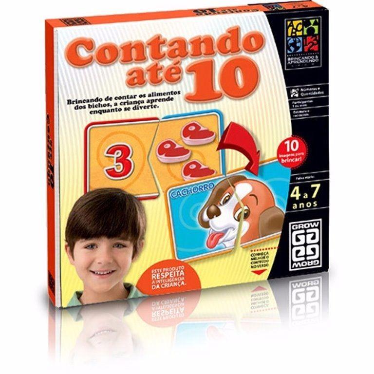 Jogo Contando ate 10 - Grow