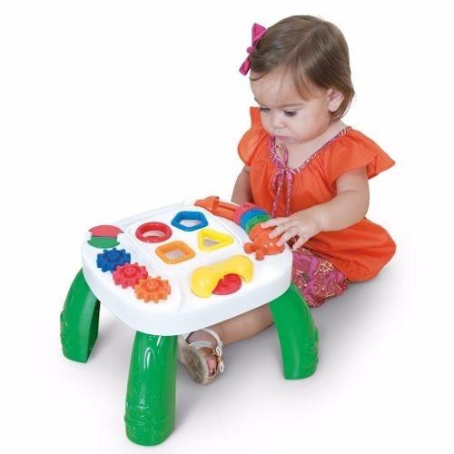 Mesa de Atividades Didática Play Time - Cotiplás