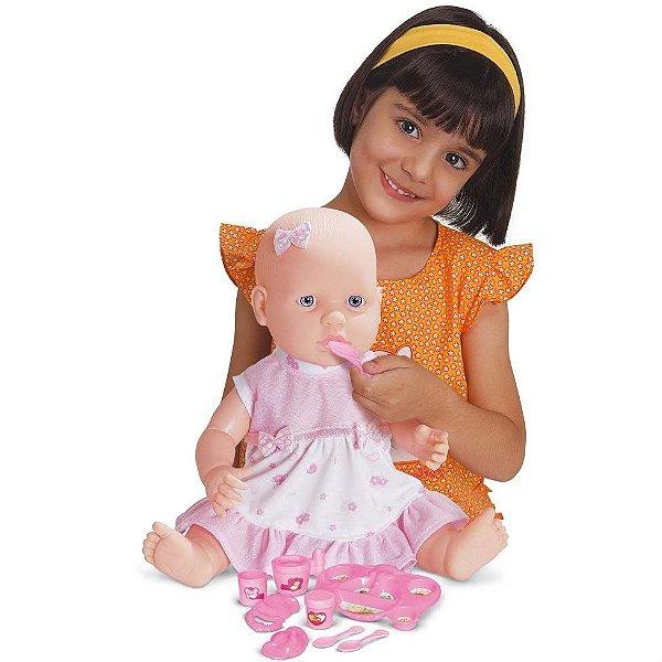 Boneca Bebê Comeluxa - Super Toys
