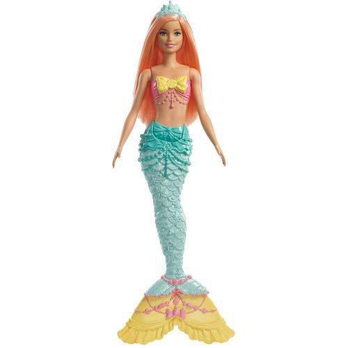 Boneca Barbie Dreamtopia Sereia Verde - Mattel