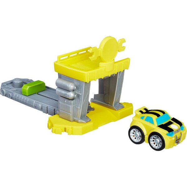 Bumblebee Lançador Flip Racer Transformers Rescue Bots - Hasbro