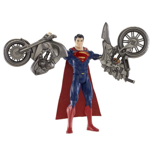 Boneco Superman Split Cycle - Mattel
