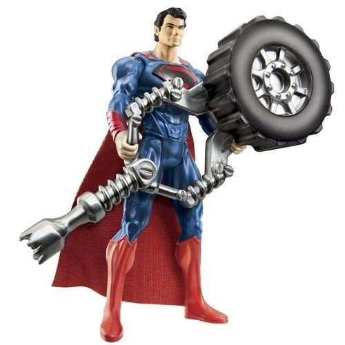 Boneco Superman Tire Blaster - Mattel