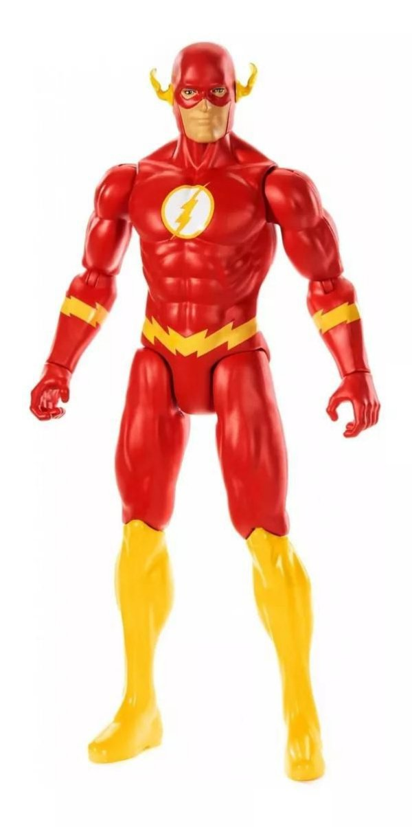 Boneco Liga da Justiça The Flash True Moves - Mattel