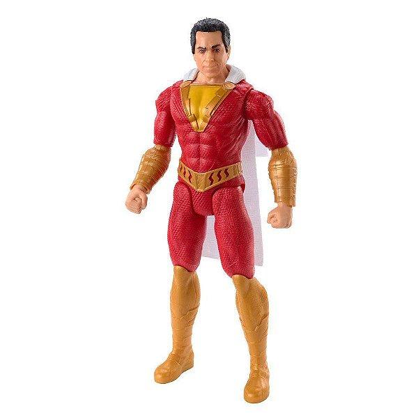 Boneco Liga da Justiça  Shazam True Move - Mattel