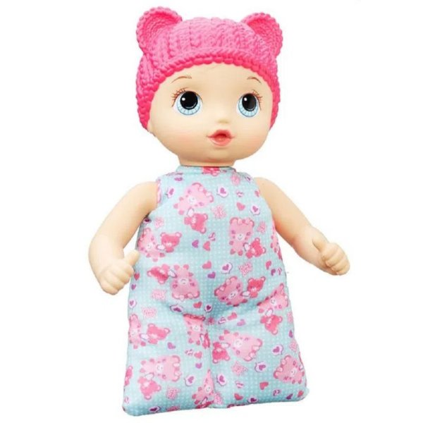 Boneca Baby Alive Naninha Loira Rosa - Hasbro