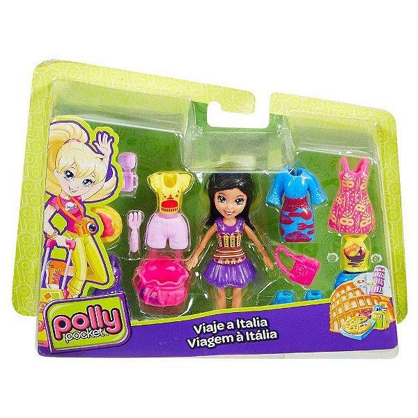 Boneca Polly Pocket Viagem a Itália - Mattel