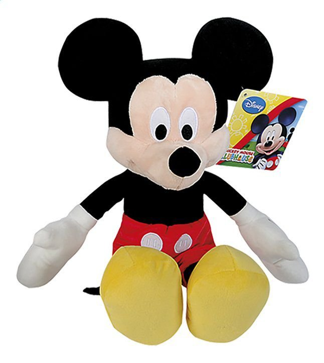 Pelúcia Mickey Disney com Som 22 cm - Nicotoys