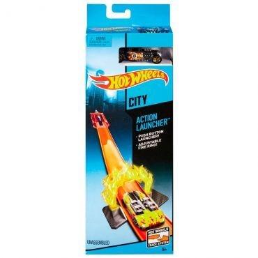 Pista Hot Wheels Super Chamas Launcher - Mattel