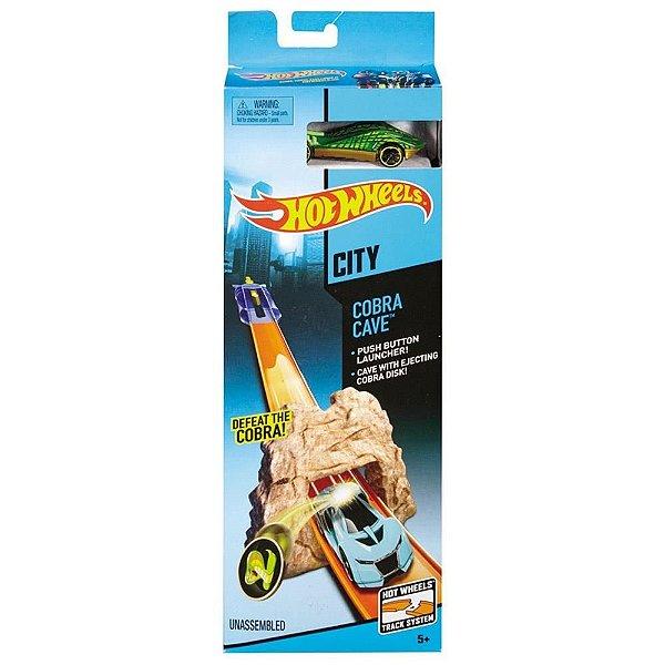 Pista Hot Wheels Caverna Animal - Mattel