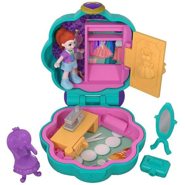 Boneca Polly Pocket Mini Ateliê - Mattel