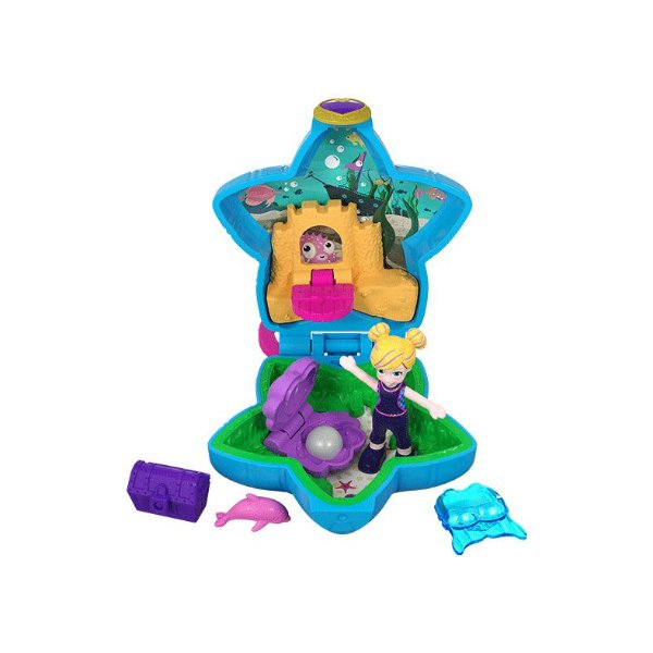 Boneca Polly Pocket Mini Fundo do Mar - Mattel