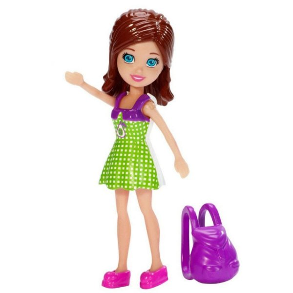 Boneca Polly Pocket Lila com Mochila - Mattel