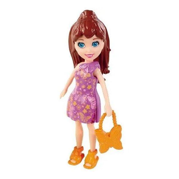 Boneca Polly Pocket Lila Passeio - Mattel