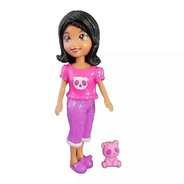 Boneca Polly Pocket Crissy com Ursinho - Mattel