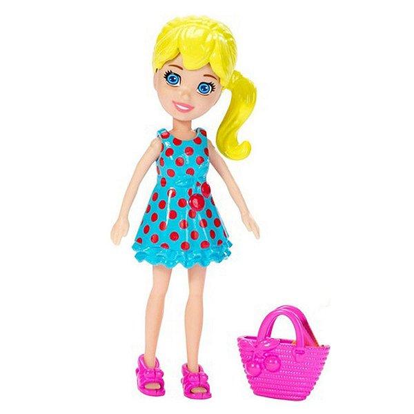 Boneca Polly Pocket Sacola Rosa - Mattel