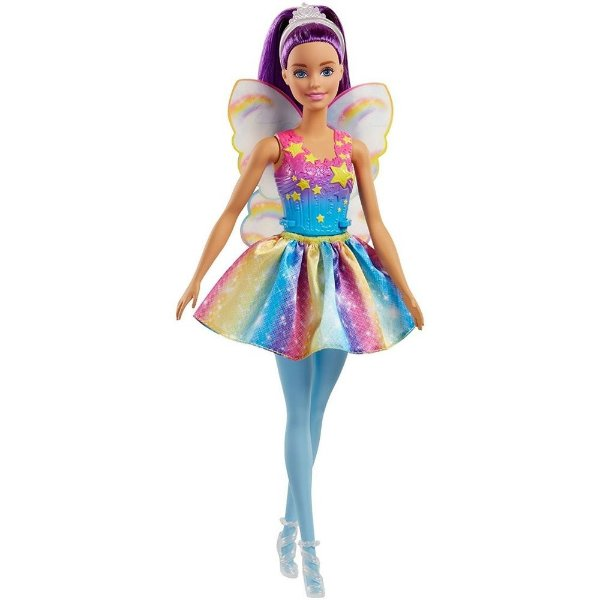 Boneca Barbie Fada Dreamtopia Cabelo Roxo - Mattel
