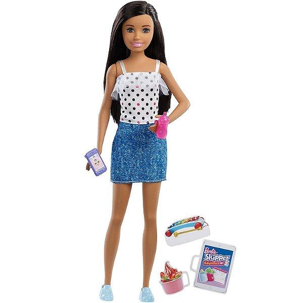 Boneca Barbie Skipper Babysitters - Mattel