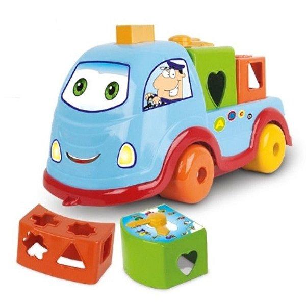 Carrinho Smart Babies Car B&C com Encaixes - Divplast