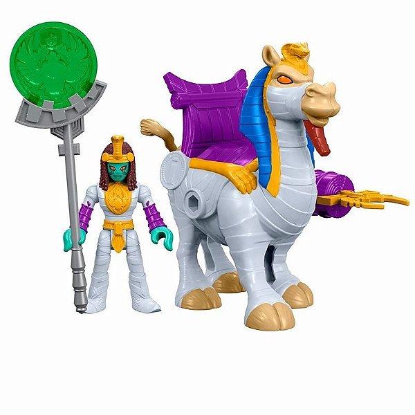 Imaginext Rainha Múmia e Camelo - Mattel