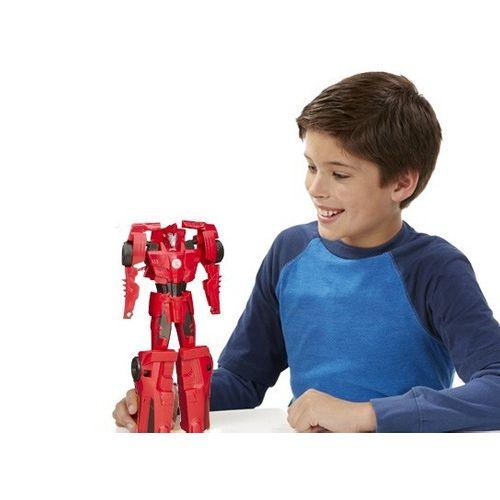 Boneco Transformers Sideswipe Robots in Disguise - Hasbro