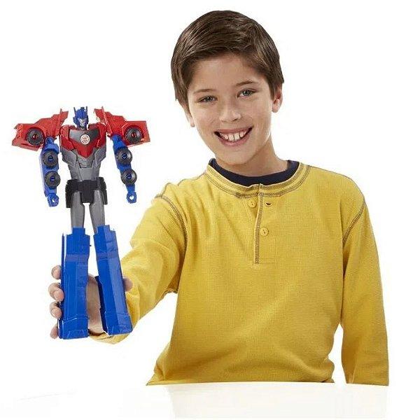 Boneco Transformers  Optimus Prime Robots in Disguise - Hasbro