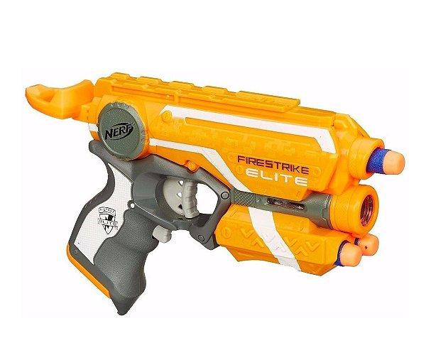 Lançador Nerf N Strike Elite Firestrike - Hasbro